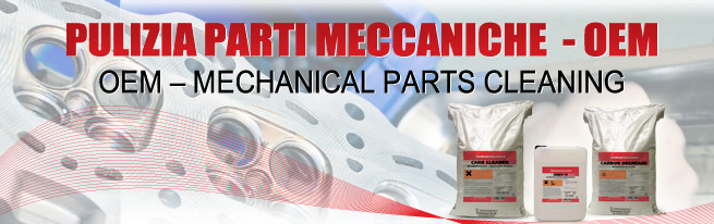 mechanical parts cleaning